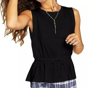 BCBG Black tank top new!